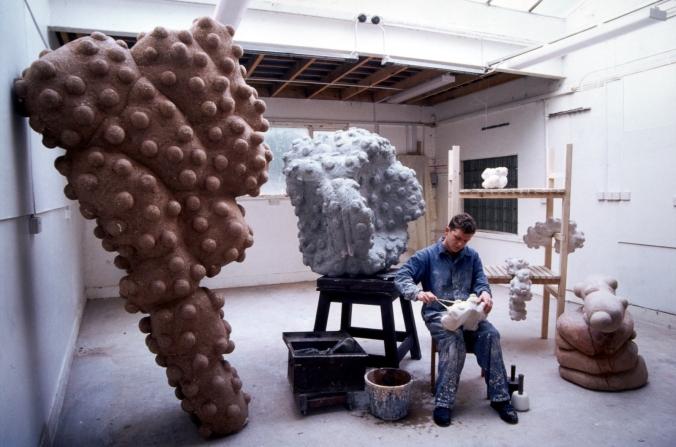 In the studio, 1995
